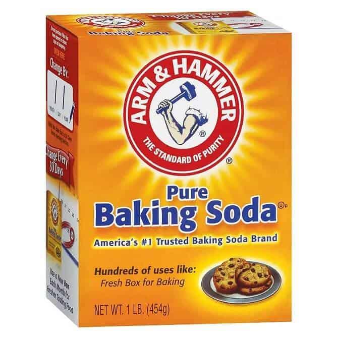 is baking soda bad for skin