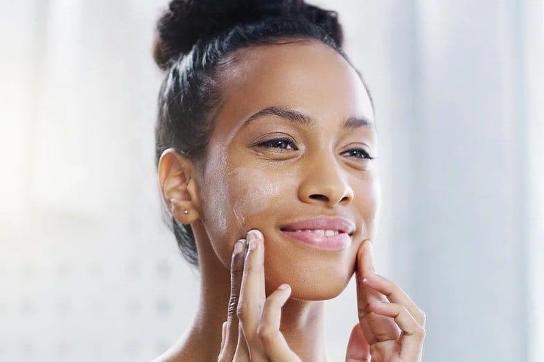 caramel skin tone skin care