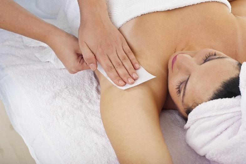 treatments for armpit skin peeling