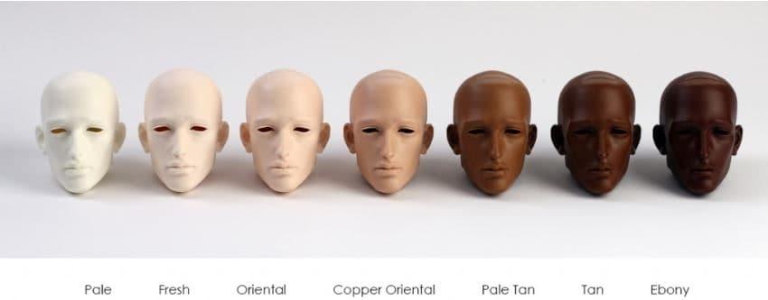 copper skin tone