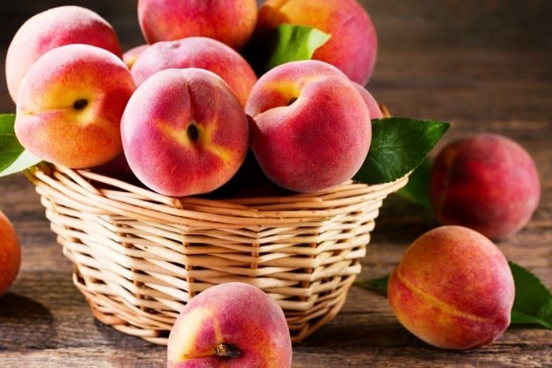 peach skin health benefits