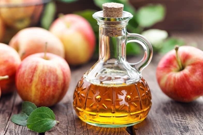 using apple cider vinegar on face